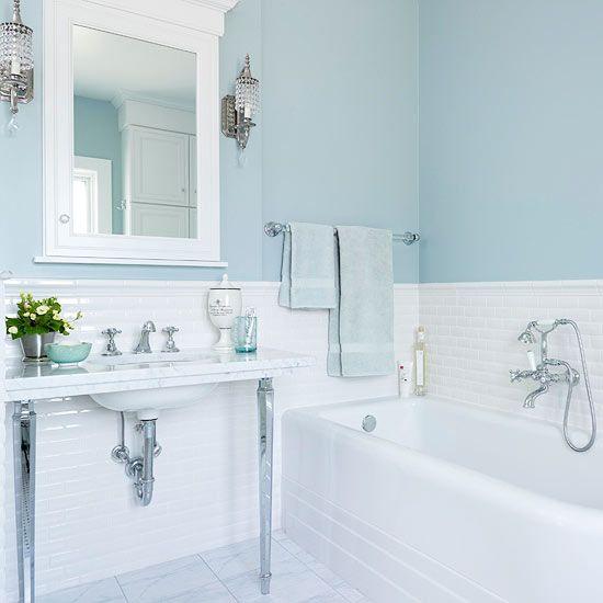 Buying A Tub Light Blue Bathroom Blue Bathroom Paint Blue Bathroom