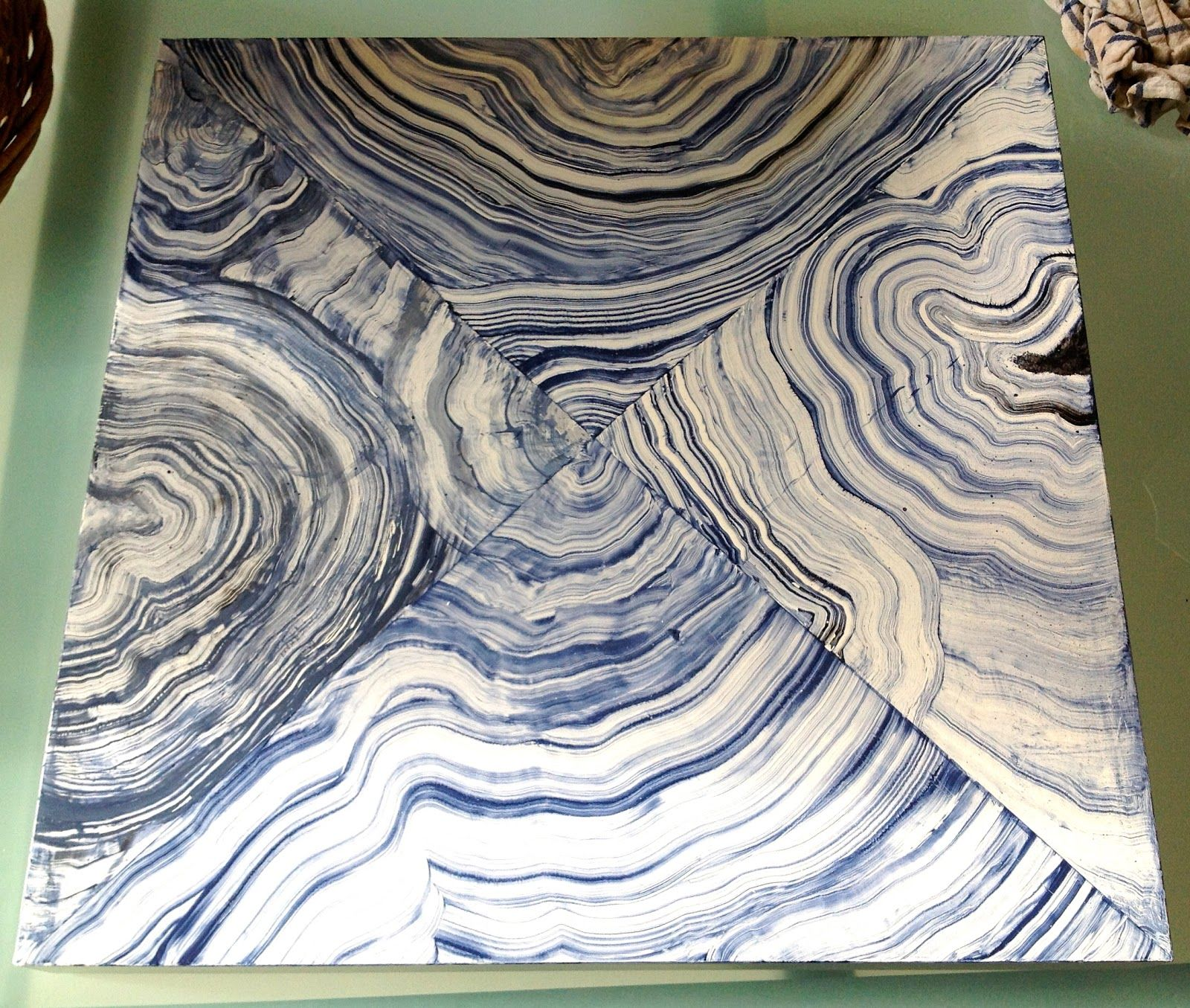 Como Vender Cuadros Paint This How To Paint Faux Agate Gorgeous Shiny Things