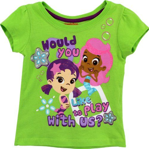 bubble guppies toddler green tshirt 7b7764 2t nick jr http