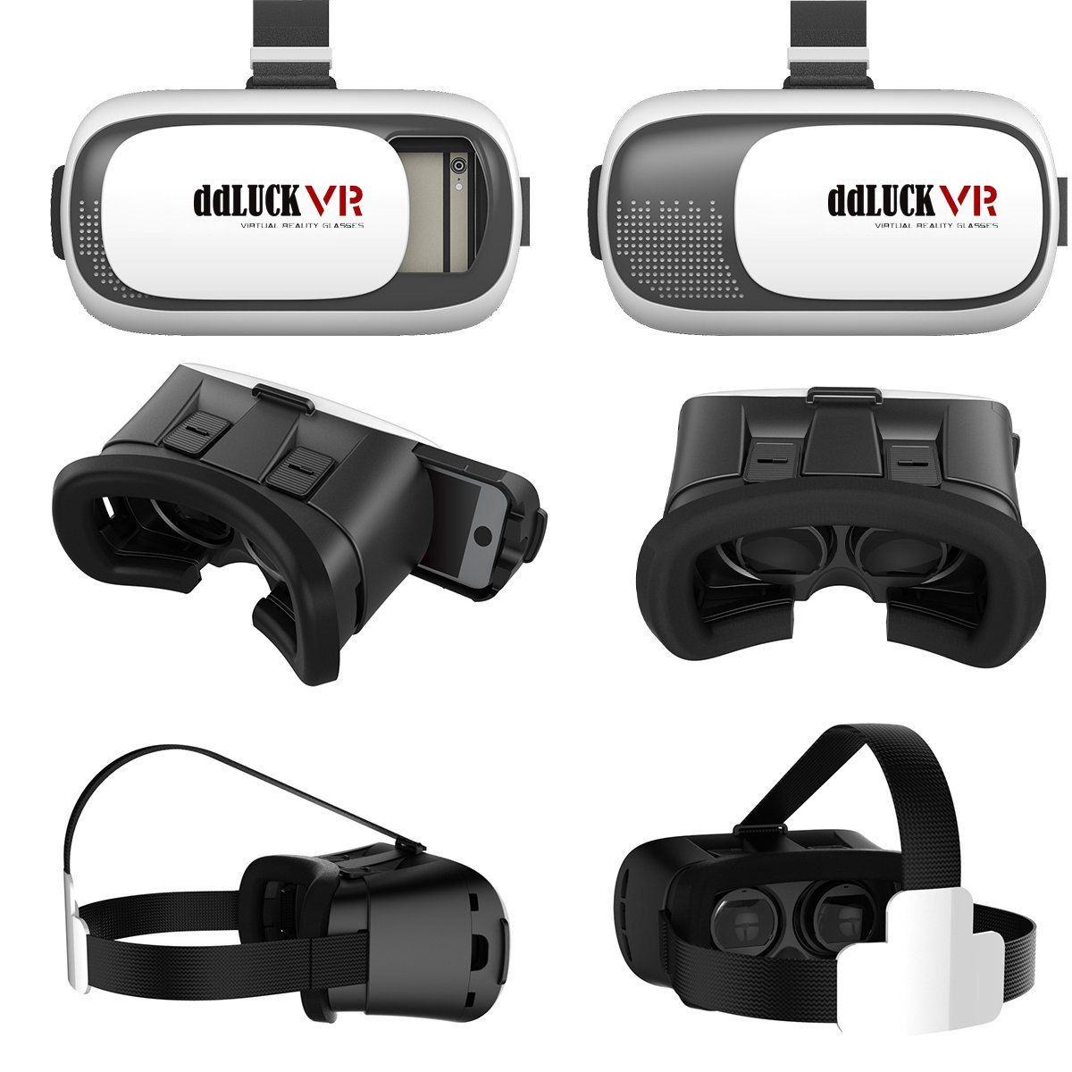 3d Vr Glasses With Without Controller Portable 3d Vr