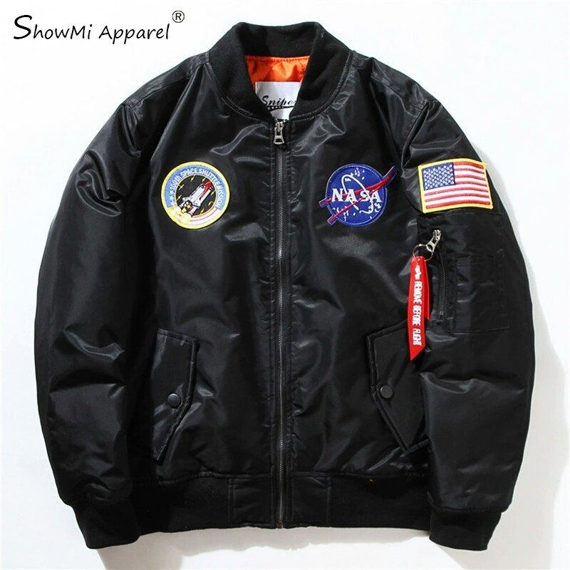 uk availability bb1ba d2333 RARE ALPHA INDUSTRIES MA-1 NASA APOLLO FLIGHT JACKET | alpha ...