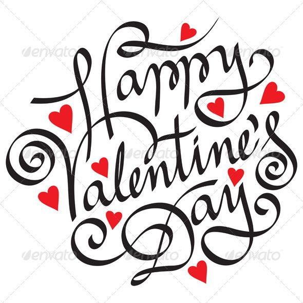 Happy Valentine S Day Hand Lettering Happy Valentines Day Calligraphy Happy Valentines Day Happy Valentines Day Images