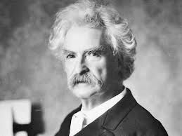 """Mark Twain""""You can't depend on your eyes when your"""