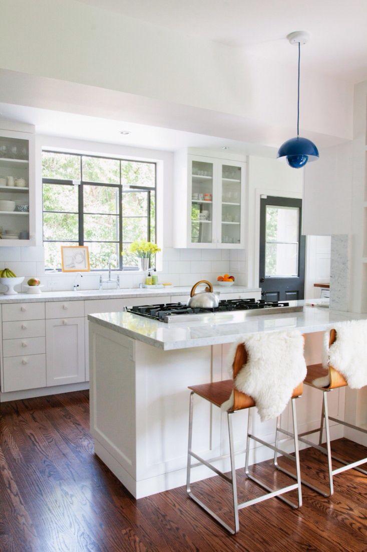 Half open kitchen | interiors | kitchen | Pinterest | Open kitchens ...