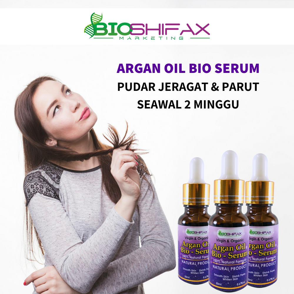 Argan Oil Bio Serum Bioshifax Argan oil benefits