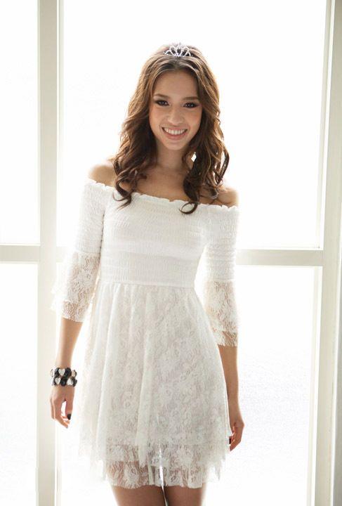 Kleid Mit Spitze Weiss Vintage Boho Party Kleid Spitze Spitzenkleid Weiss In Kleidung Accessoires Damenmode Spitzenkleider Vintage Kleid Spitze Kleid Spitze
