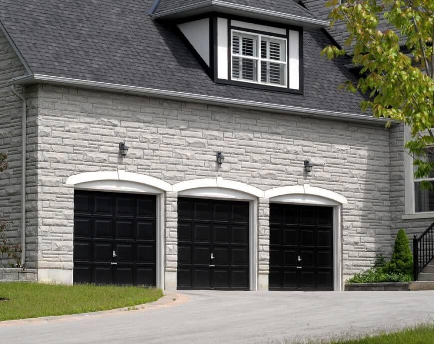 60 Residential Garage Door Designs Pictures Garage Door Design Black Garage Doors Garage Door Styles
