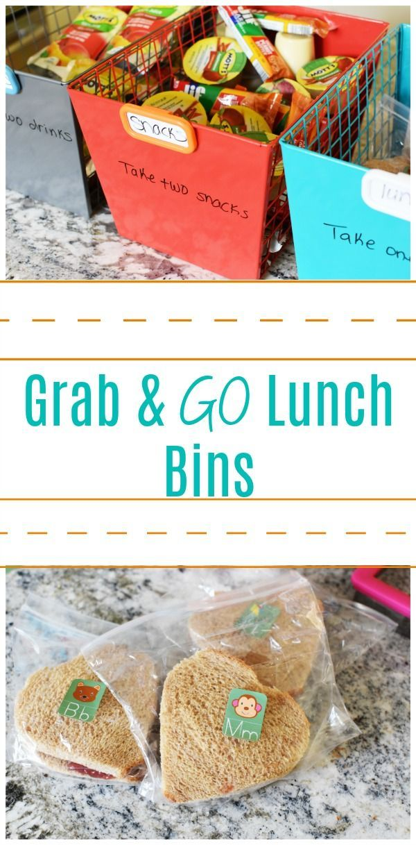 Grab & Go Lunch Bins images