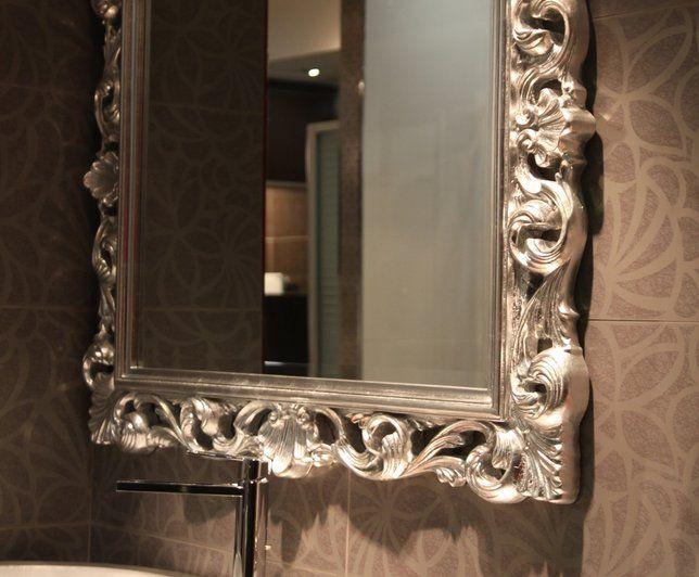 Deco Baroque photo deco : salle de bains blanc baroque ambiance salle de bains