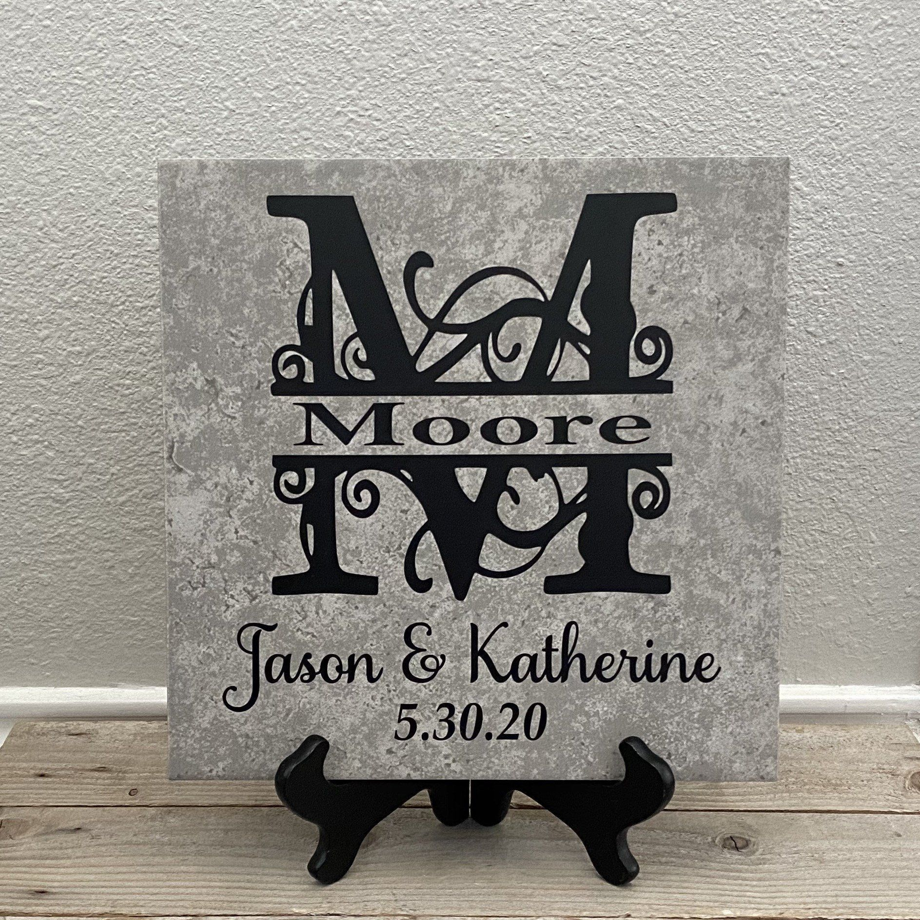 Family Name Plaque Family Name Sign Newlywed Gifts Last Etsy In 2020 Personalized Wedding Gifts Newlywed Gifts Beautiful Personalized Gifts