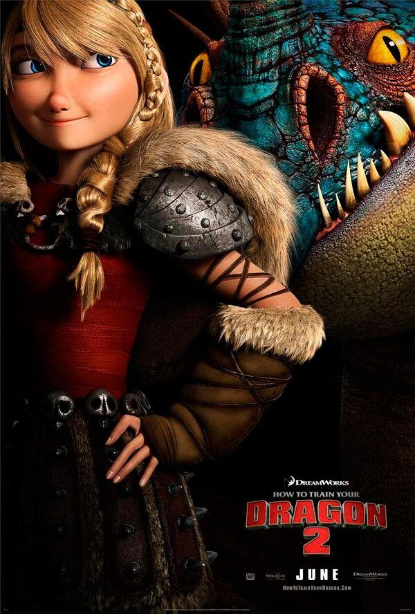Como Entrenar A Tu Dragon 2 Astrid Y Su Montura Tormentula