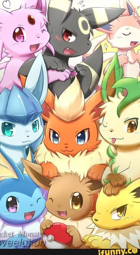 Sylveon E Vaporeon Pesquisa Google Wallpaper Pokem Jpg 449x820 Eevee Family Anime Pictures