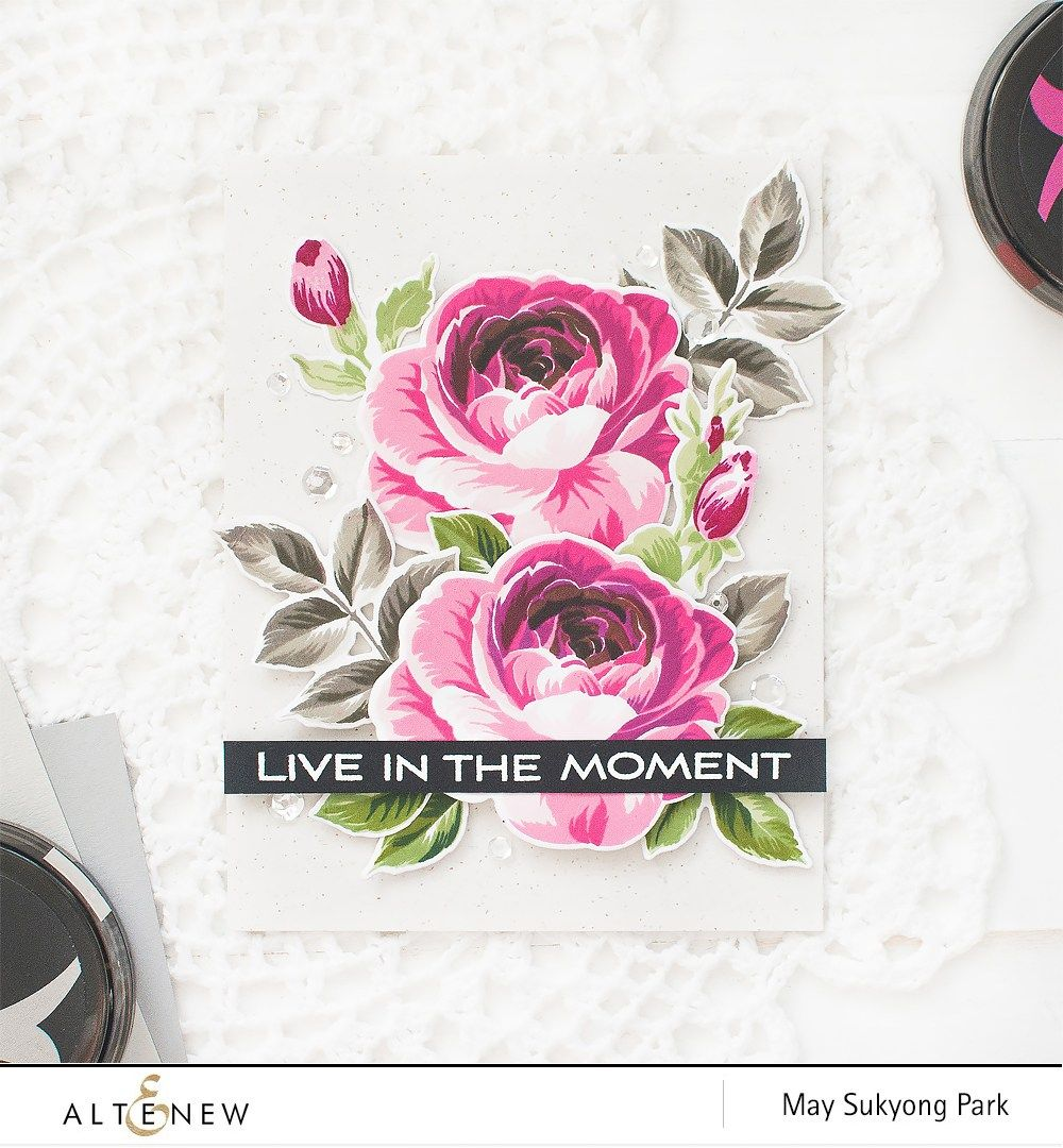 May Park Altenew Craft Inspire Pinterest Flower Cards And