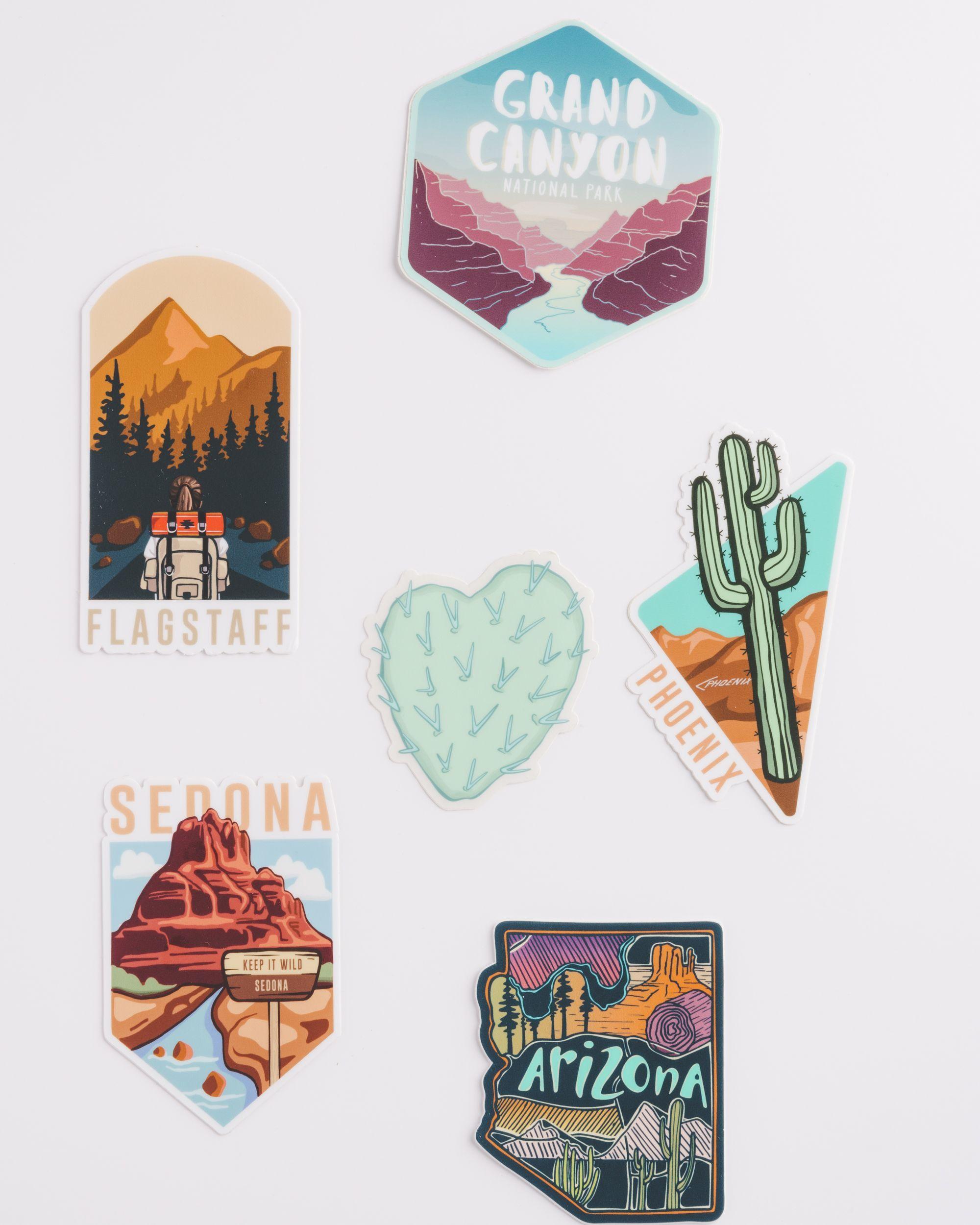 Arizona love sticker pack keep it wild