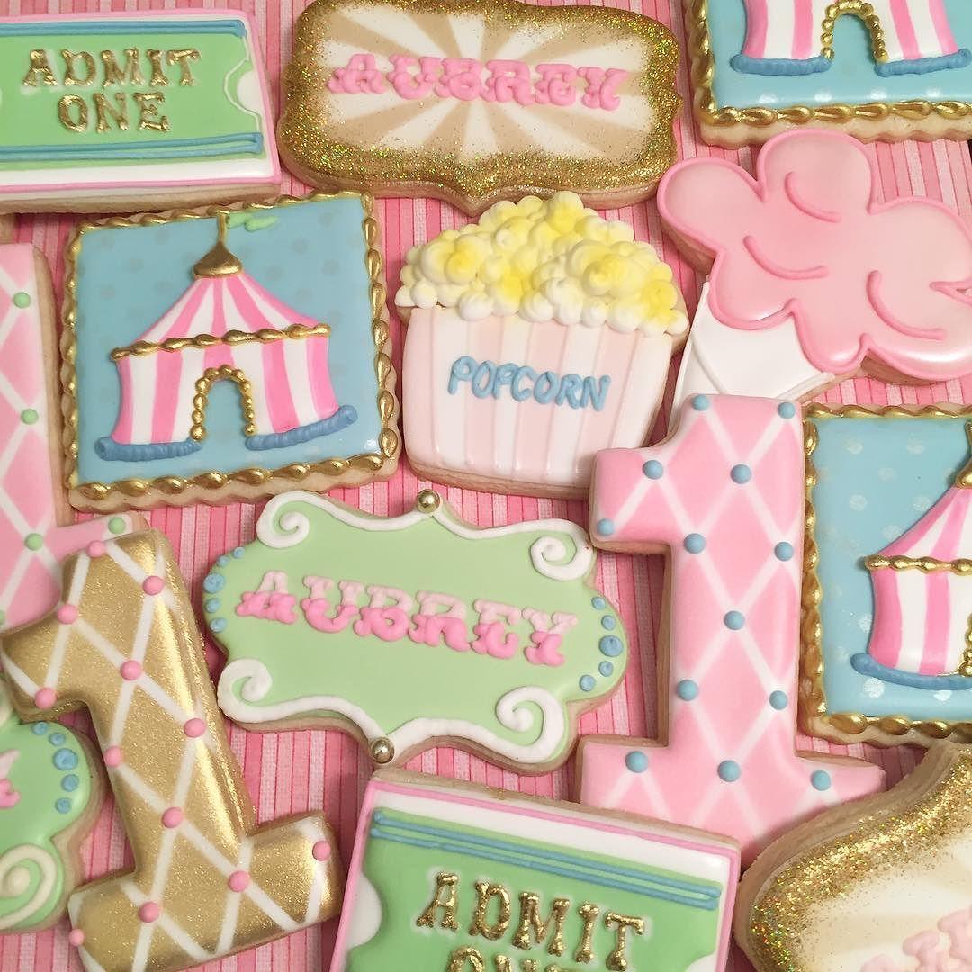 circus cookies numbers | maddie`s birthday ideas | Pinterest | Circo ...