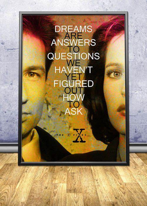X files quote poster by pahleeloola use the coupon code pin10 x files quote poster by pahleeloola use the coupon code pin10 for fandeluxe Choice Image