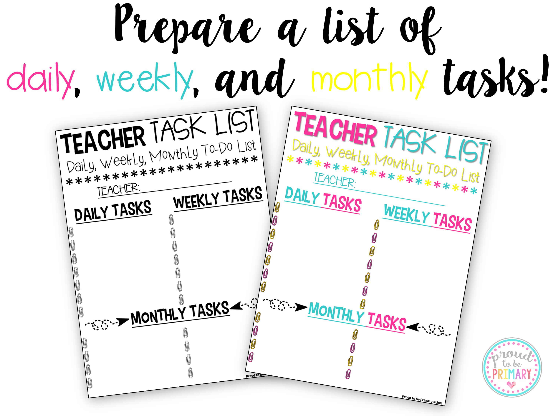 10 time saving tips for teachers | teacher, classroom setting and school