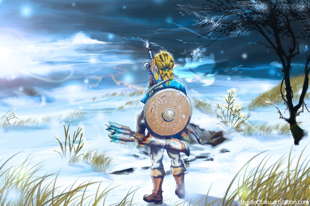 Artstation Frozen Hyrule Jo Torres Legend Of Zelda Zelda Art Legend Of Zelda Breath