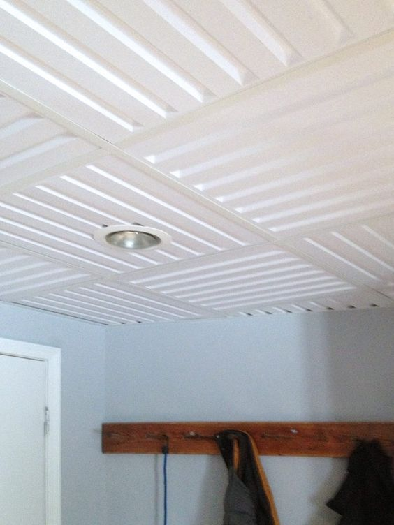 Modern Installation Featuring Southland Ceiling Tiles In A Dropped Ceiling Drop Ceiling Tiles Ceiling Tiles