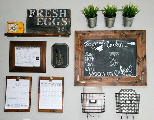 Kitchen Command Center Www.FarMorePrecious.com
