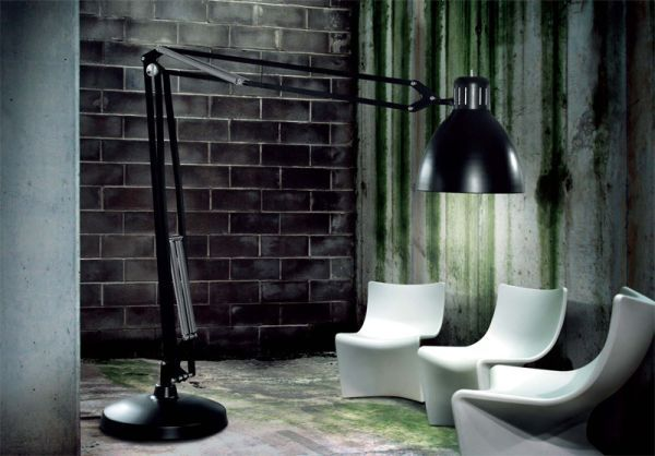 Delightful Think Big When You Choose The Floor Lamp Awesome Ideas