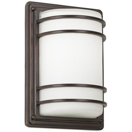 Habitat collection 11 high bronze indoor outdoor wall light habitat collection 11 high bronze indoor outdoor wall light mozeypictures Images