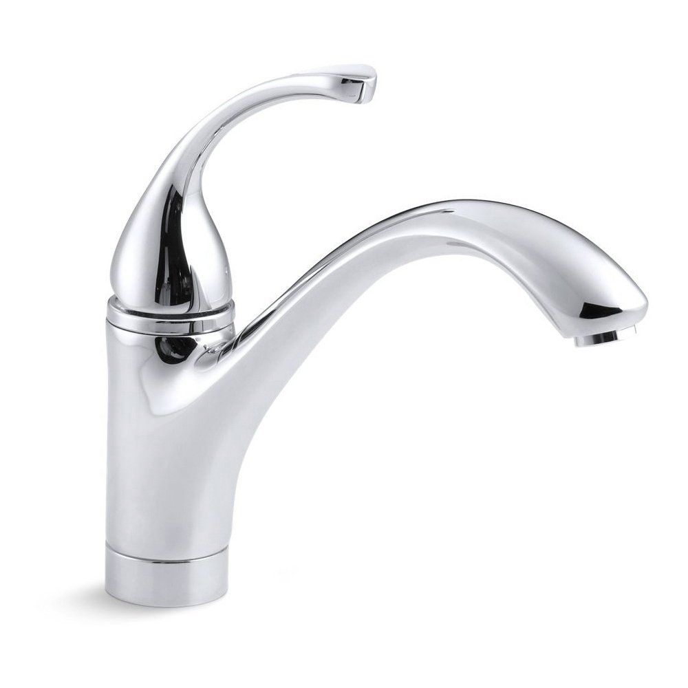 Kohler Forte Single Hole Kitchen Sink Faucet With 9 1 16 Spout In
