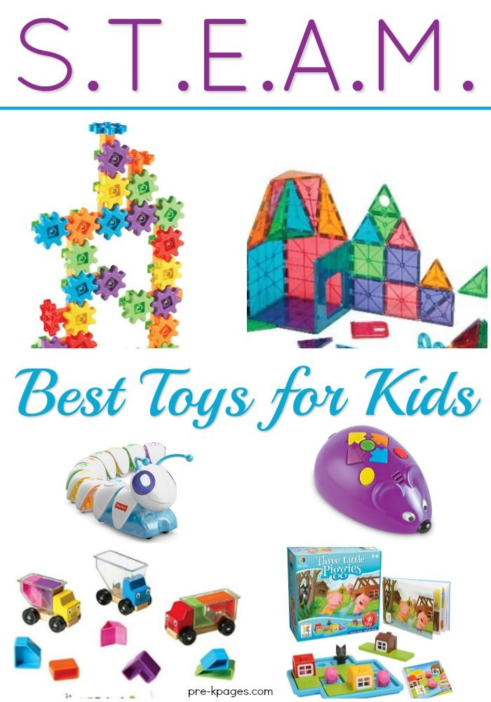 Best STEAM Toys for Preschoolers - Pre-K Pages