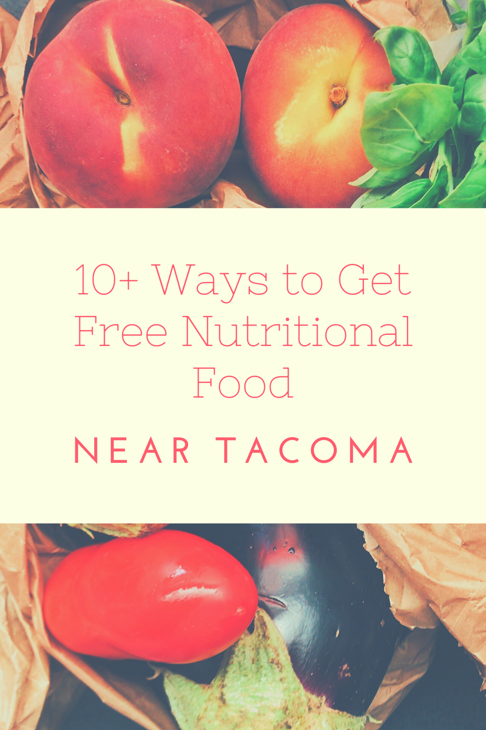 10+ Ways to Get Free Nutritional Food Near in 2020