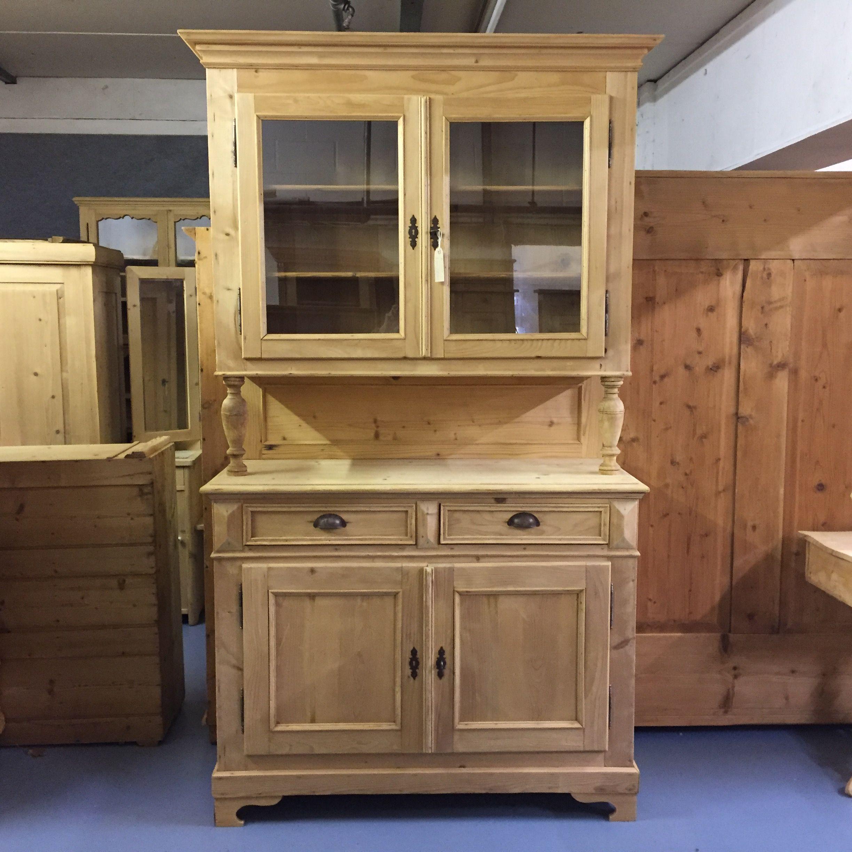 Very Large Antique Pine Farmhouse Dresser (R7202E)