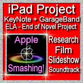 iPad Project Using KeyNote and GarageBand Apple Smashing