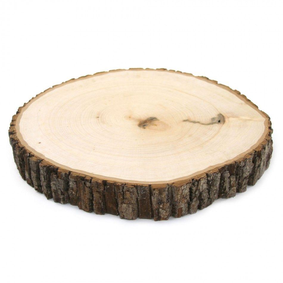 Reversible Cake Stand Wood Slabs [424498] : Wholesale Wedding ...