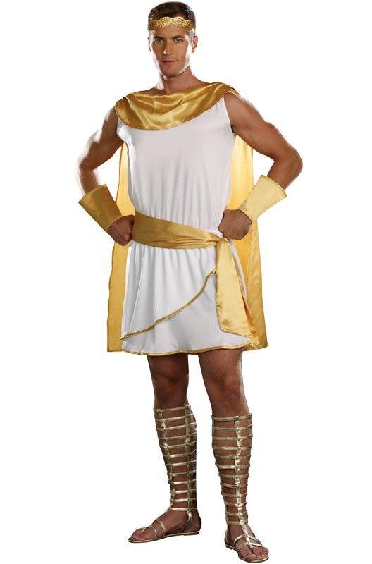 Costumes Brand New Deluxe Zeus Greek Mythology Adult ...