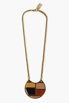 Lizzie Fortunato Harvest Moon Necklace