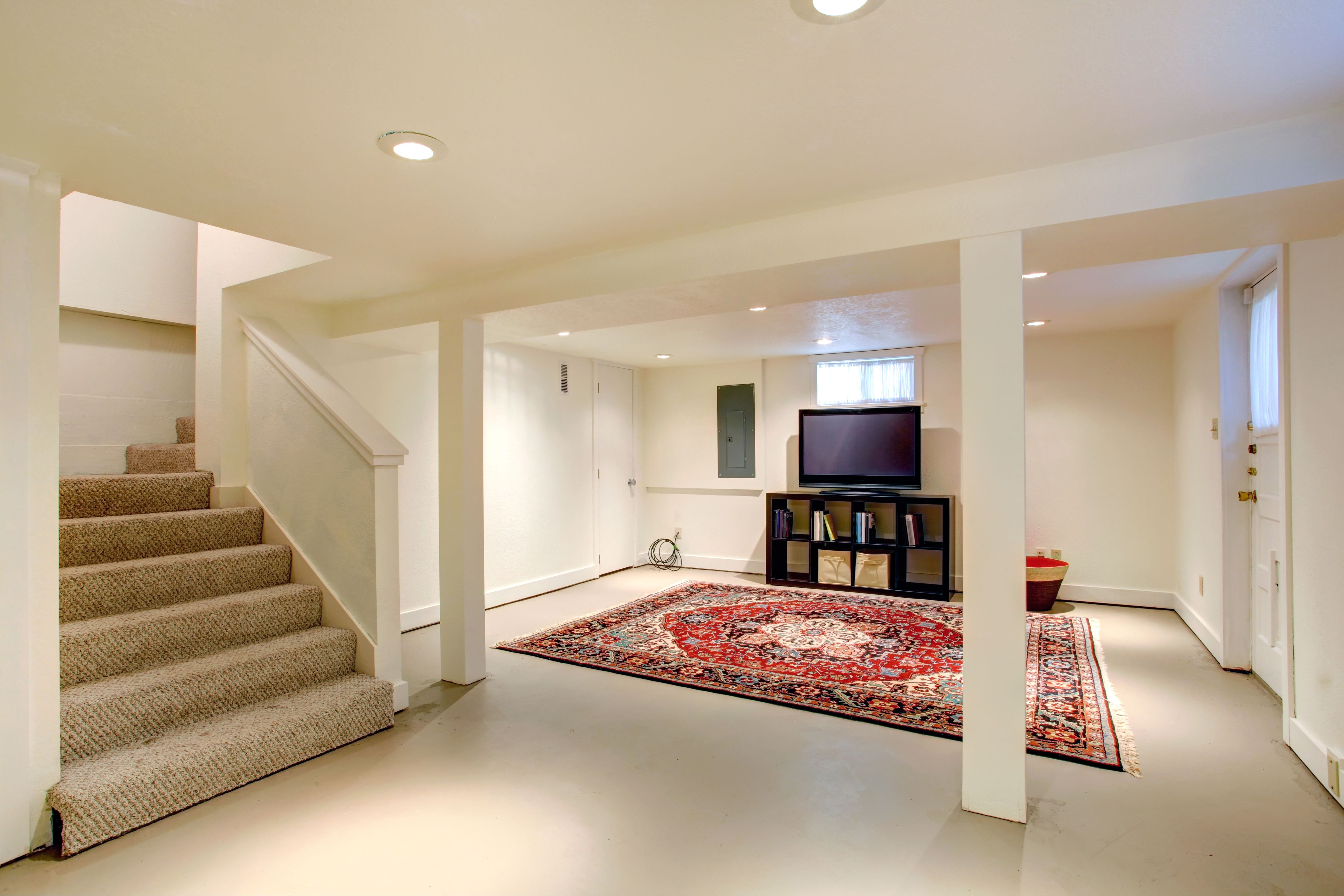 Finish Basement Stairs Carpet