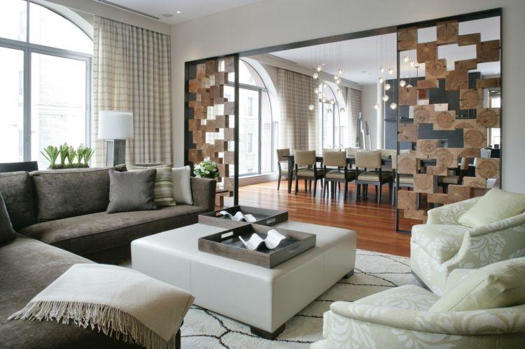 moderne trennwande wohnzimmer | masion.notivity.co