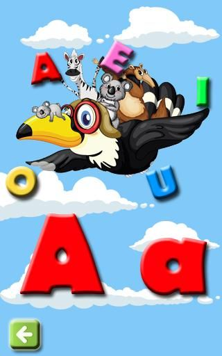Learn the Vowels for Toddlers Learn the vowels is a game