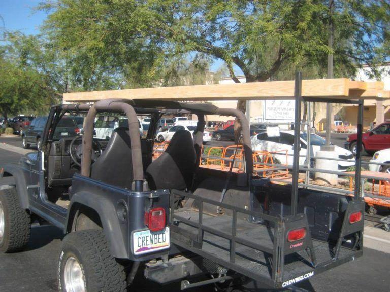 Crewbed Jeep Bed Extender Crewbed Parts Sleeper Storage Jeep Bed Jeep Racks Jeep