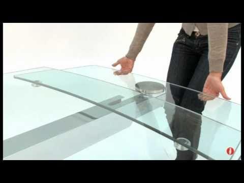 Cosmic: tavolo in vetro per sala da pranzo by Calligaris | home ...