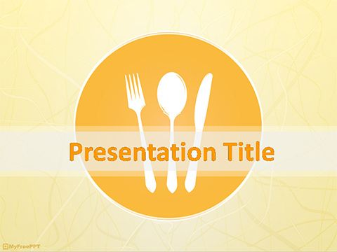 Restaurant Powerpoint Template Powerpoint Slides Templates Menu