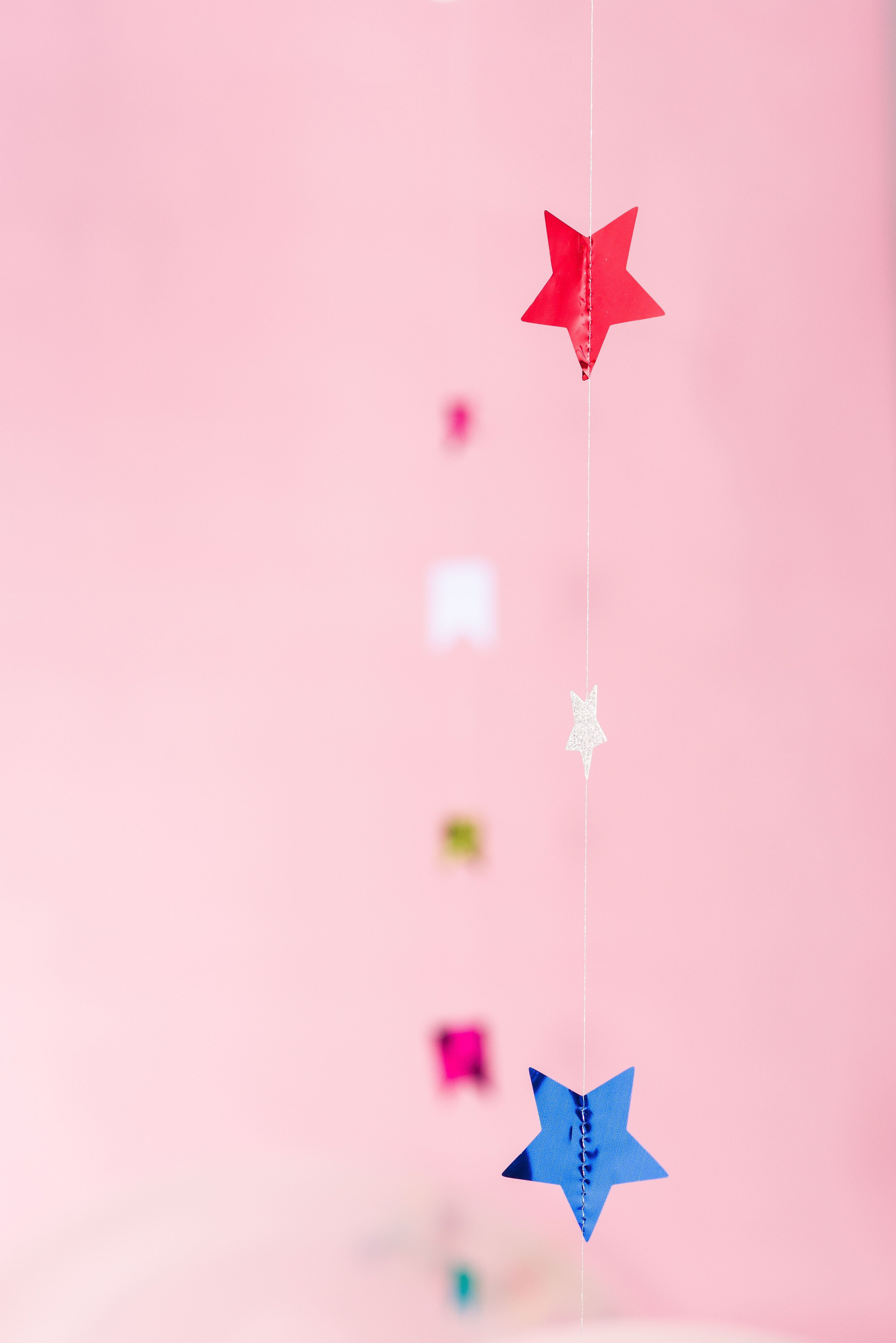Hang Star Garlands For Dimension And Texture To Your Party