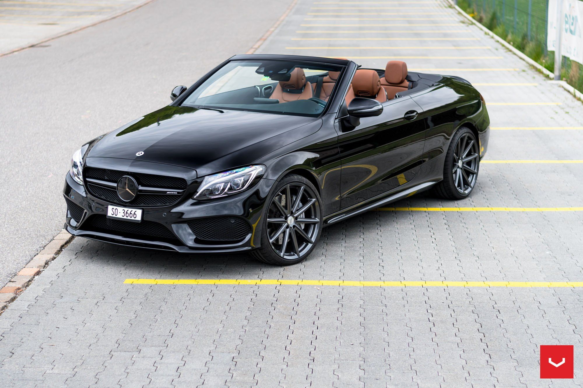 Mercedes Aftermarket Parts >> Stylish Aftermarket Parts On Stunning Convertible Mercedes C