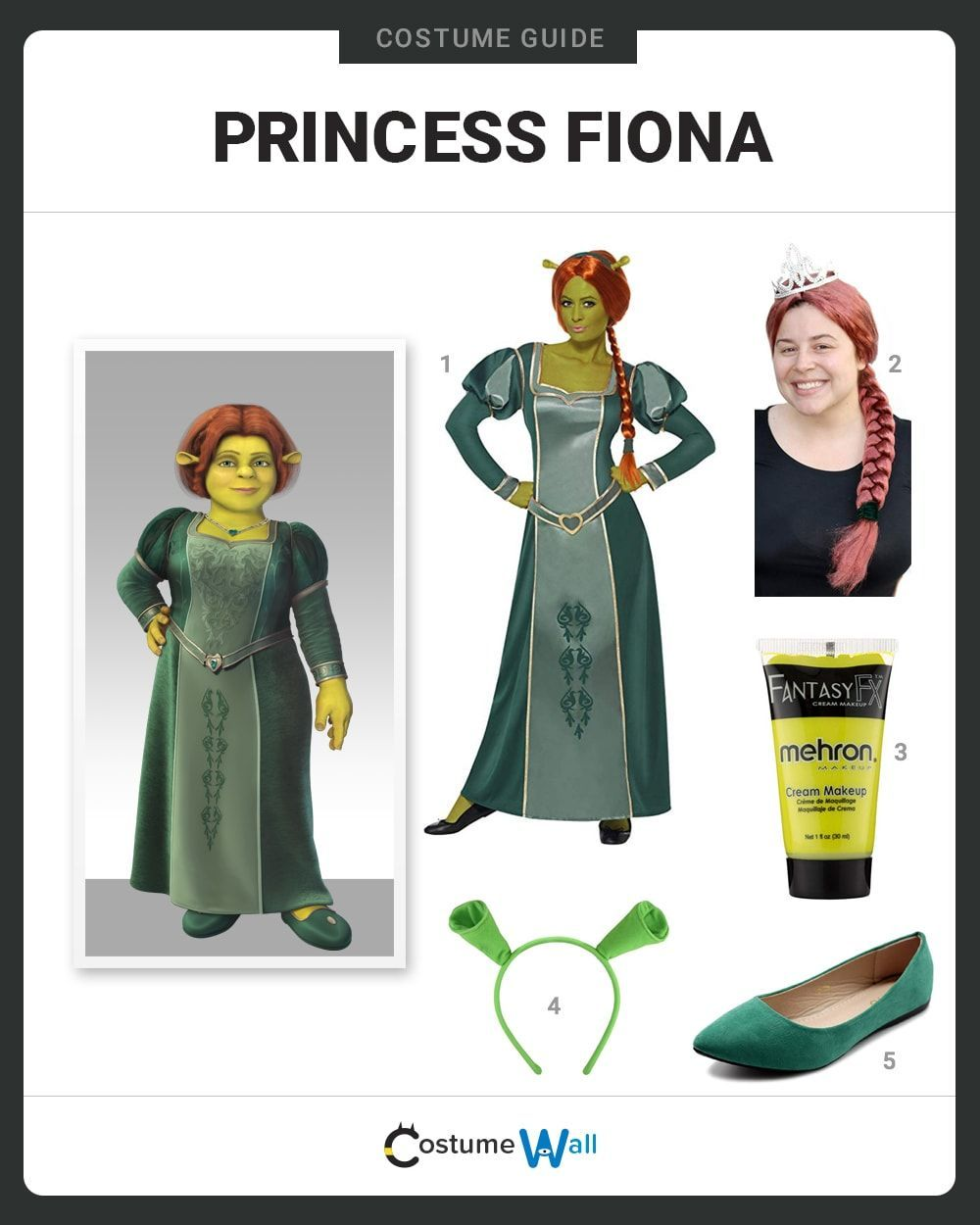 Who Dressws Up As Fiona For Halloween 2020 Dress Like Princess Fiona in 2020   Princess fiona, Fiona costume