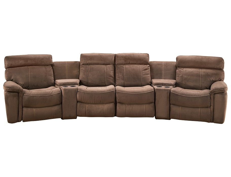 Surf Collection 6 Pc Glider Home Theater Sunroom Remodel Slumberland Furniture Home Theater #slumberland #living #room #furniture