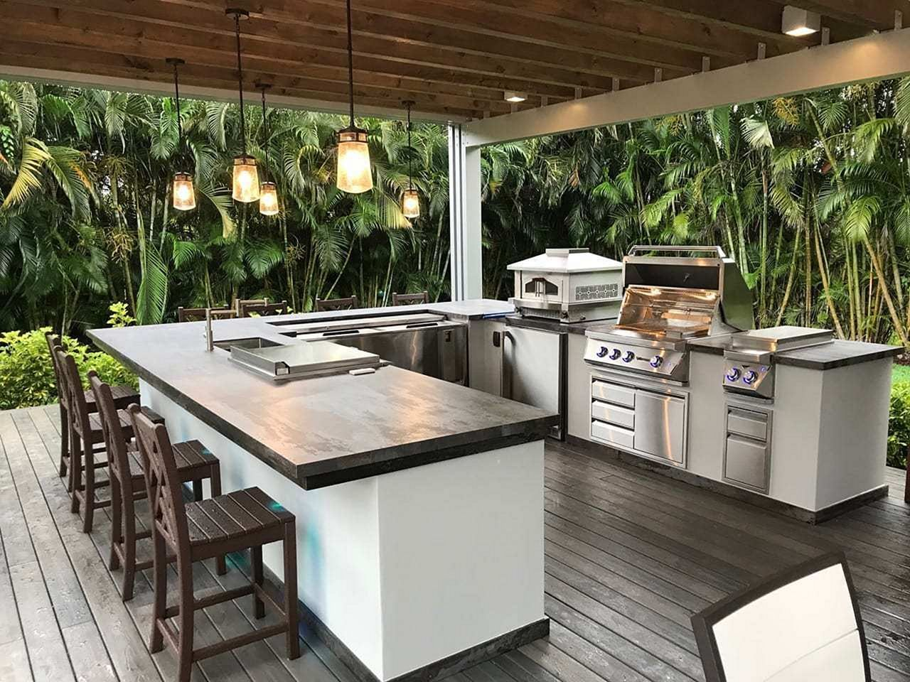 pin by popular trends on outdoor space inspirations outdoor kitchen design kitchen design on kitchen decor trends id=50053