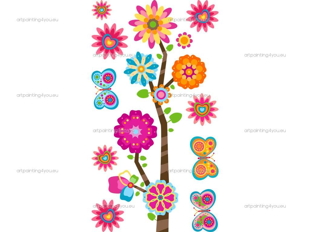 flores para decorar paredes infantiles pesquisa google