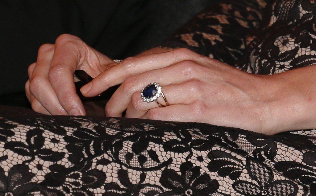 Kate Middleton the Duchess of Cambridge Royal engagement rings