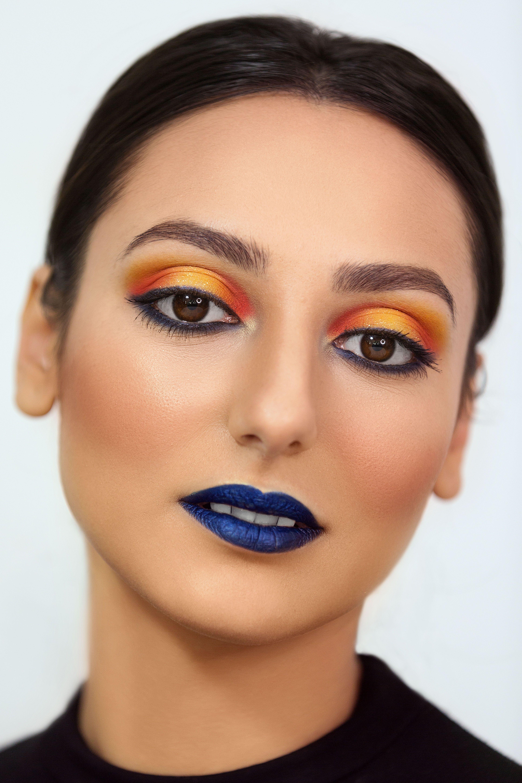 makeupbyalexandrabutnaru Party makeup using the split