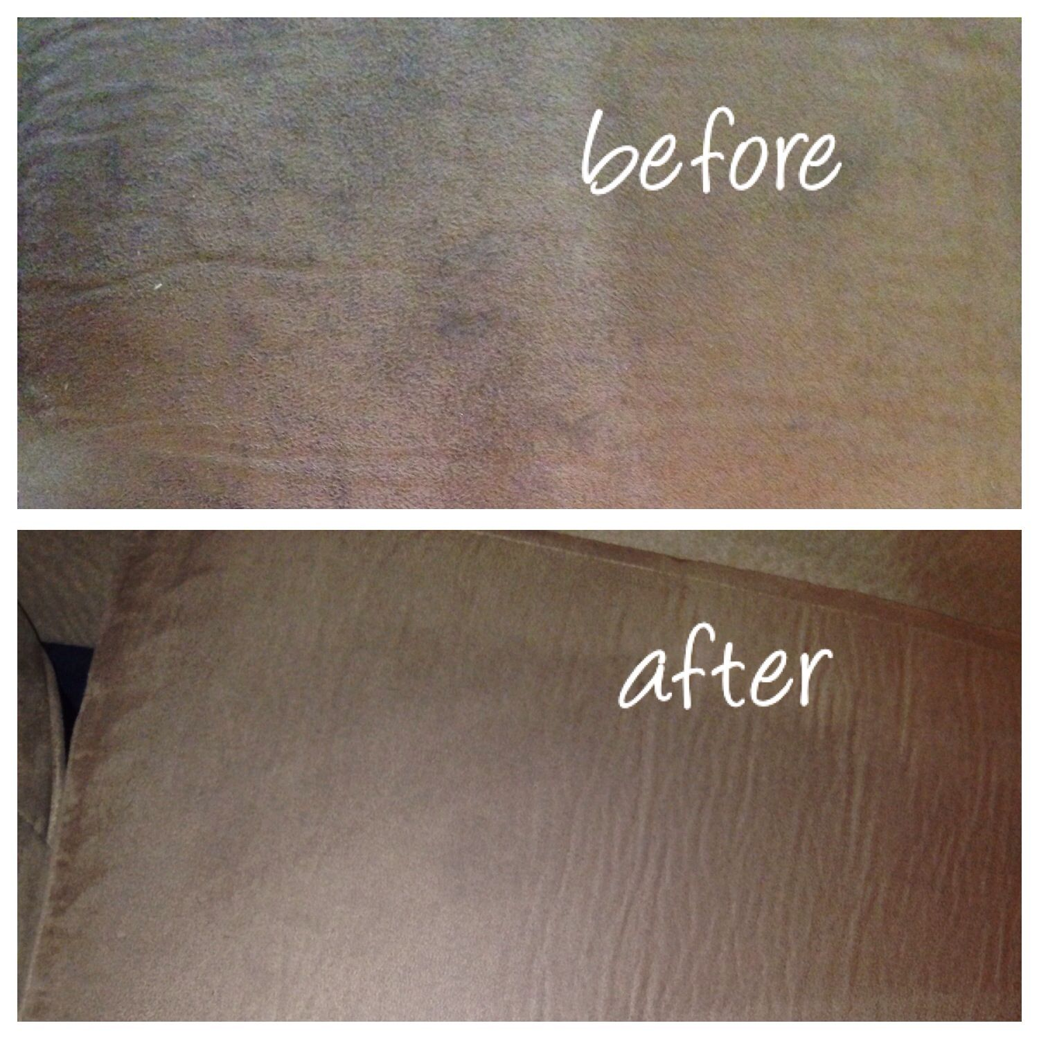 Enjoyable I Just Cleaned My Microfiber Couch With Windex And A Scrub Machost Co Dining Chair Design Ideas Machostcouk