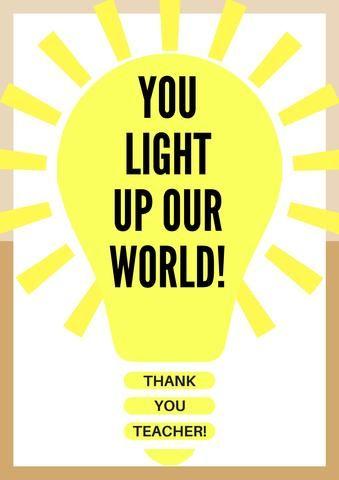 free printable teacher appreciation thank you cards recipes to